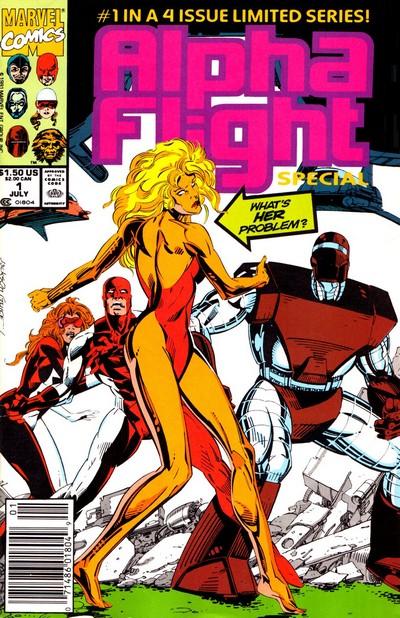 Alpha Flight – Special Vol. 1 #1 – 4 (1991)