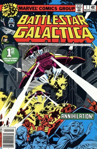 Battlestar Galactica Vol. 1 #1 – 23 (1979-1981)