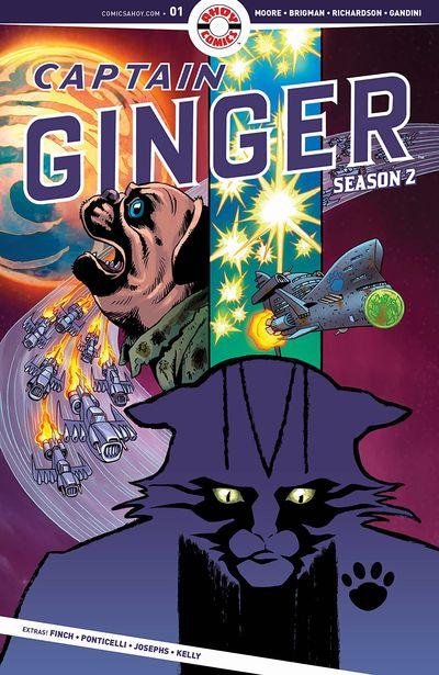 Captain Ginger Season 2 #5 (2020)