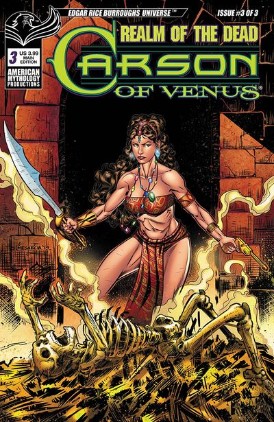 Carson of Venus – Realm of the Dead #3 (2020)