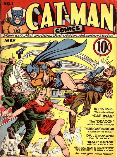 Cat-Man Comics #1 – 32 (1941-1945)