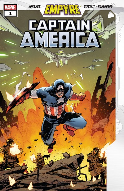 Empyre – Captain America #1 – 3 (2020)