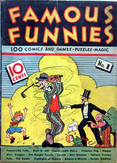 Famous Funnies #1 – 218 (1934-1955)