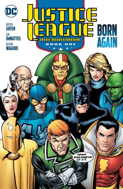 Justice League International Book 1 – Born Again (2019)