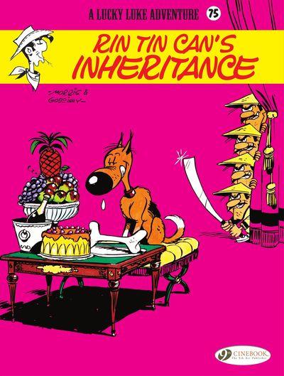 Lucky Luke #75 – Rin Tin Can's Inheritance (2020)