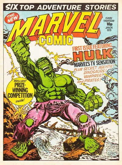 Marvel Comic and Marvel Super-Heroes #330 – 352 + 362-389 (1979-1982)
