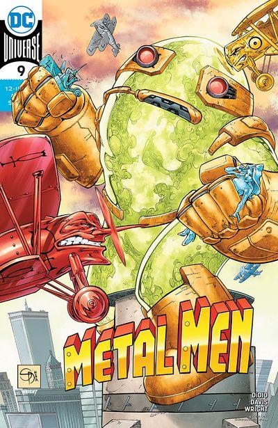 Metal Men #9 (2020)