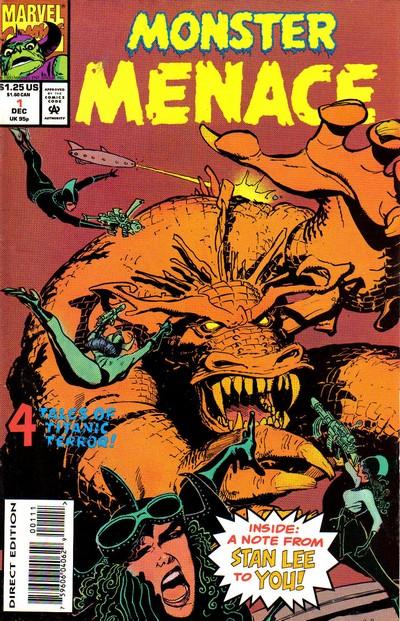 Monster Menace #1 – 4 (1993-1994)