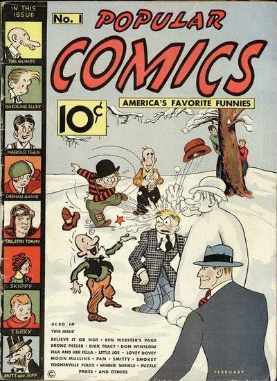 Popular Comics #1 – 145 (1936-1947)