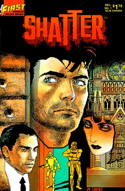 Shatter #1 – 14 (1986-1987)