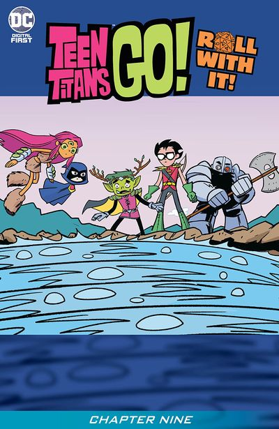 Teen Titans Go! Roll With It! #9 (2020)