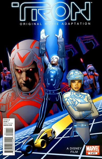 Tron – Original Movie Adaptation #1 – 2 (2011)