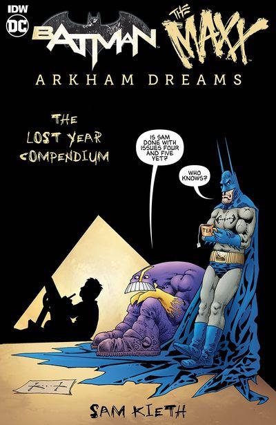 Batman-The Maxx – Arkham Dreams – The Lost Year Compendium (2020)