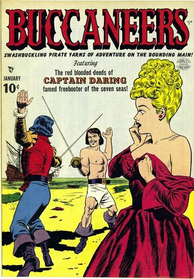 Buccaneers #19 – 27 (1950-1951)