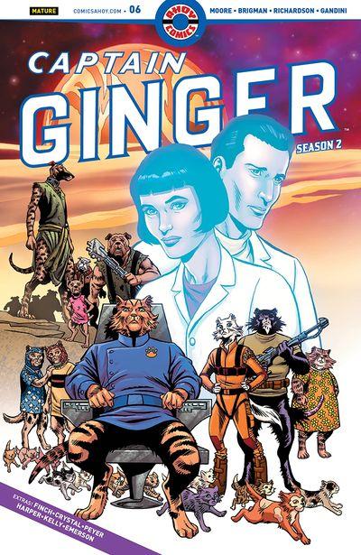 Captain Ginger Season 2 #6 (2020)