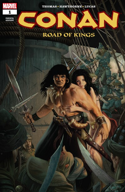 Conan – Road Of Kings #1 – 12 (2010-2012)