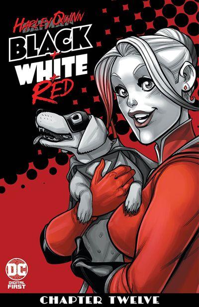 Harley Quinn Black + White + Red #12 (2020)