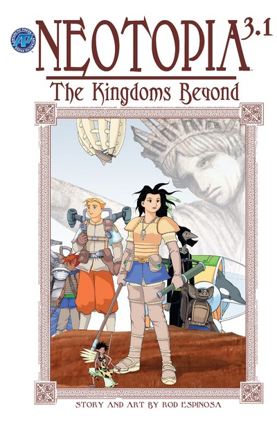 Neotopia Vol. 3 – The Kingdoms Beyond #1 – 5 (2004)