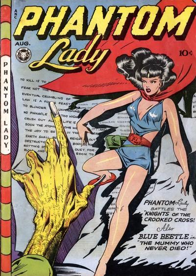 Phantom Lady #13 – 23 (1947-1949)