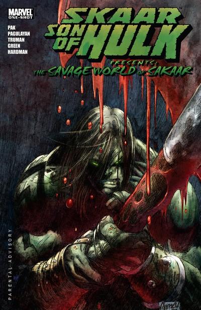 Skaar – Son of Hulk Presents – Savage World of Sakaar #1 (2008)