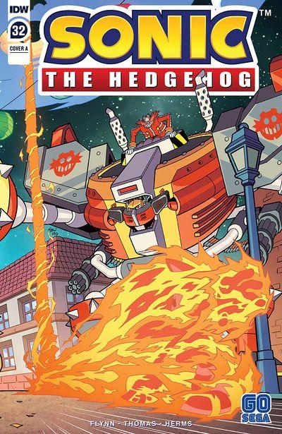Sonic The Hedgehog #32 (2020)