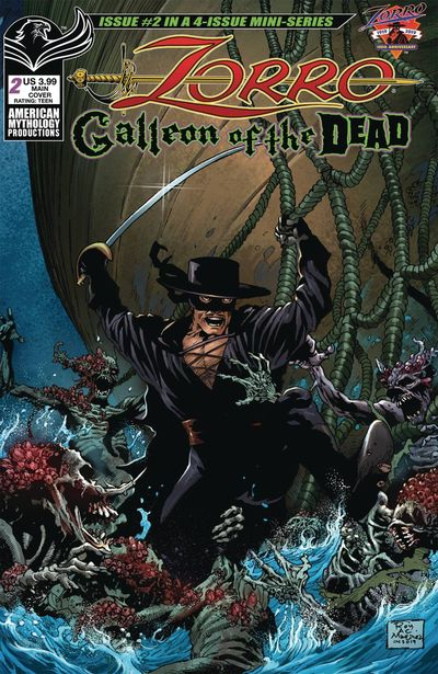 Zorro – Galleon of the Dead #1 (2020)