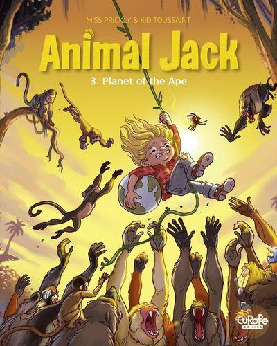 Animal Jack #3 – Planet of the Ape (2020) (Europe Comics)