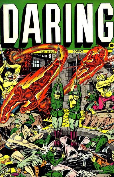 Daring Comics #9 – 12 (1944-1945)