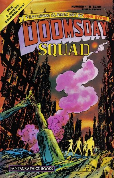 Doomsday Squad #1 – 7 (1986-1987)