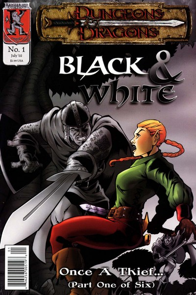 Dungeons and Dragons – Black & White #1 – 6 (2002)