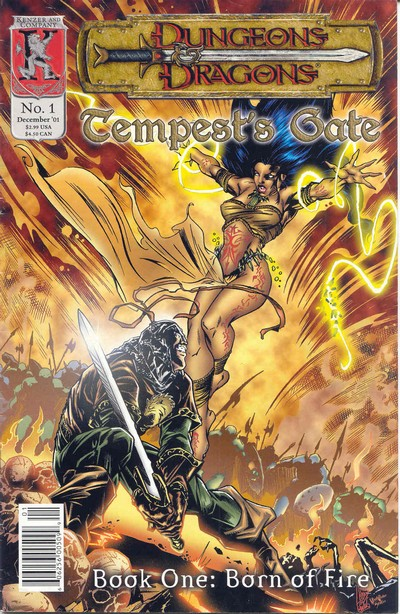 Dungeons and Dragons – Tempests Gate #1 – 4 (2001)