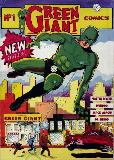 Green Giant Comics #1 (1940)