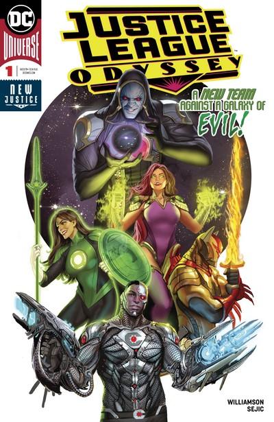 Justice League Odyssey #1 – 25 (2018-2020)
