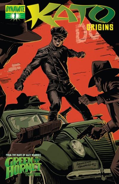 Kato Origins – Way of the Ninja #1 – 11 (2010-2011)