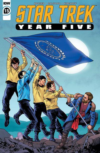 Star Trek – Year Five #15 (2020)