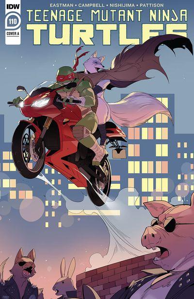 Teenage Mutant Ninja Turtles #110 (2020)