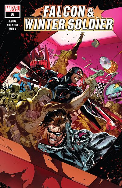 Falcon and Winter Soldier #5 (2020)