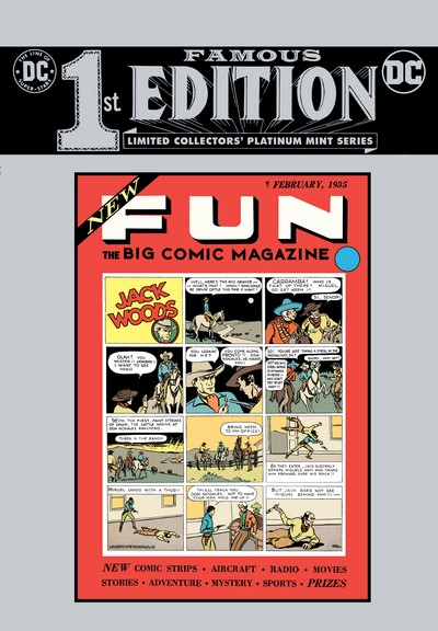 Famous First Edition – New Fun #1, C-63 (2020)