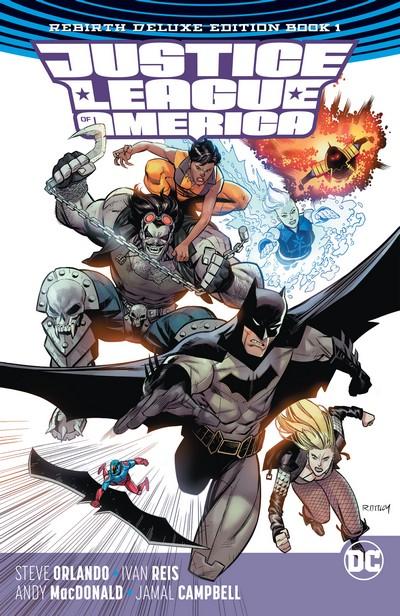 Justice League of America – Rebirth Deluxe Edition Book 1 (2017)