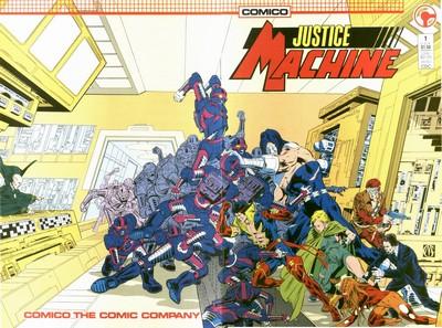 Justice Machine #1 – 29 (1987-1989)