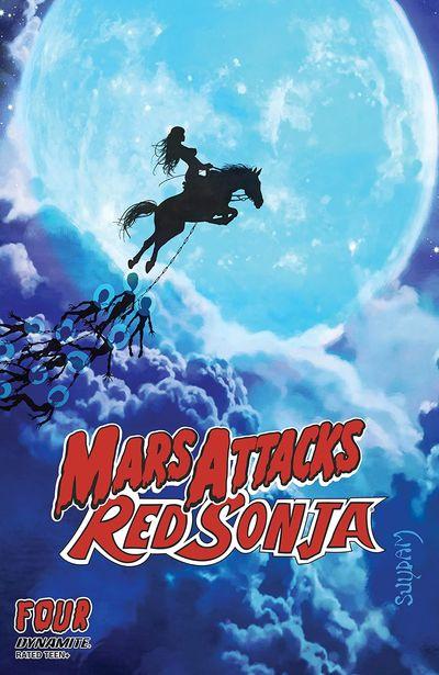Mars Attacks – Red Sonja #4 (2020)