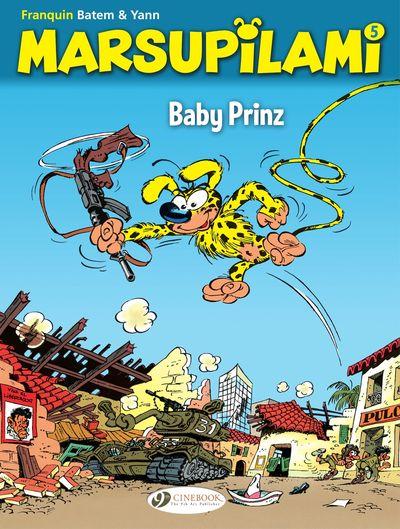 Marsupilami #5 – Baby Prinz (2020)