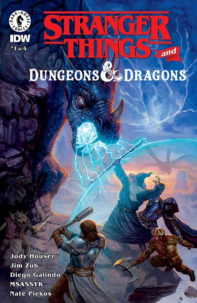 Stranger Things and Dungeons & Dragons #1 (2020)