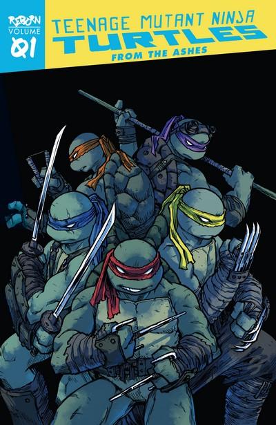Teenage Mutant Ninja Turtles – Reborn Vol. 1 – From the Ashes (TPB) (2020)