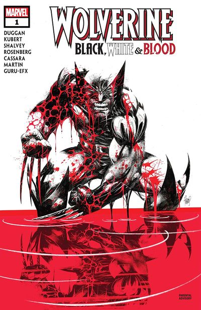 Wolverine – Black, White and Blood #1 (2020)