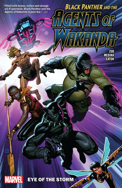 Black Panther and the Agents of Wakanda Vol. 1 – Eye of the Storm (TPB) (2020)