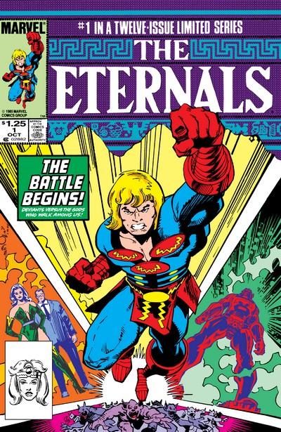 1991 Marvel Comics Eternals The Herod Factor #1
