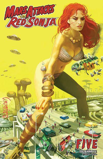 Mars Attacks – Red Sonja #5 (2020)