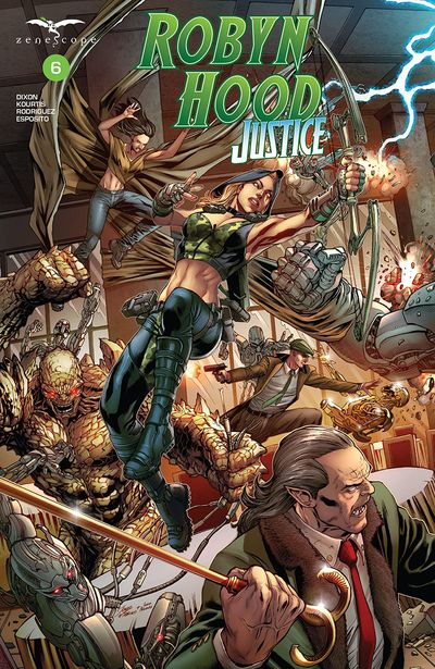 Robyn Hood – Justice #6 (2020)