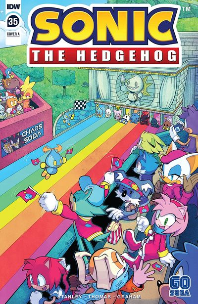 Sonic The Hedgehog #35 (2020)